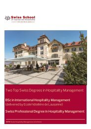 SSTH_Two Top Swiss Degrees in Hospitality Management