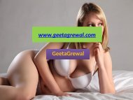 Independent Delhi escorts are equipped with sexual things