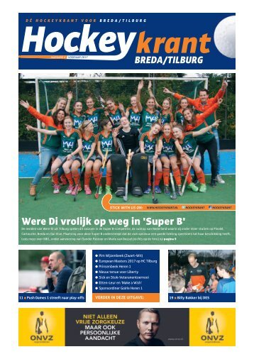 Hockeykrant Breda/Tilburg voorjaar 2017