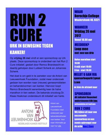 run2cure urk flyer