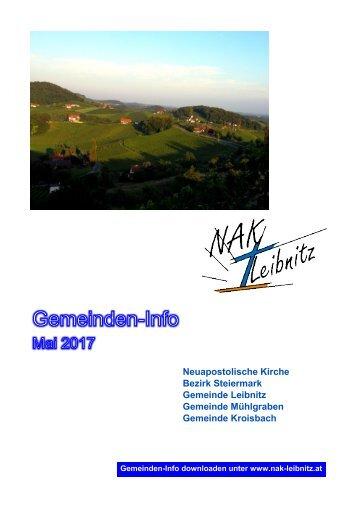 Gemeindeinfo Mai 2017