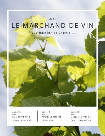 Magazine Le Marchand de Vin