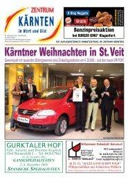 Kärntner Weihnachten in St.Veit - Zentrum Kärnten in Wort und Bild