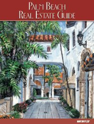 Palm Beach Real Estate Guide May 2017