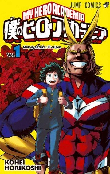 Boku Hero Academia Tomo - 01