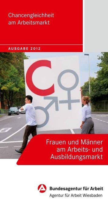 Frauen und Männer am Arbeits- und Ausbildungsmarkt
