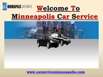 Airport Limousine Services in Minneapolis