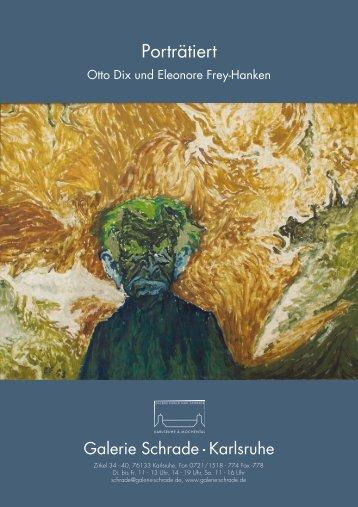 Otto Dix und Eleonore Frey-Hanken ... - Galerie Schrade