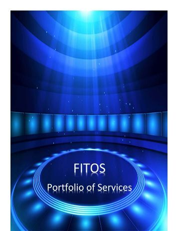 FIELD IT OPERATIONS SERVICES PORTFOLIO OF SERVICES
