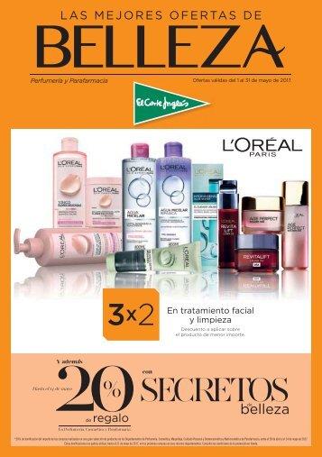 las mejores ofertas de belleza corte ingles del 1 al 31 de mayo