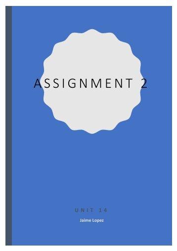 Assigment 2