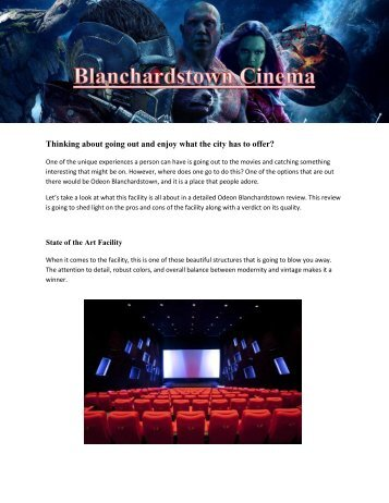 Blanchardstown Cinema