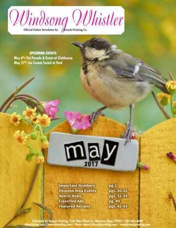 Windsong May 2017