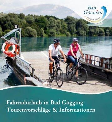 Fahrradurlaub in Bad Gögging 2017