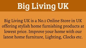 Buy Home Furnishing Online