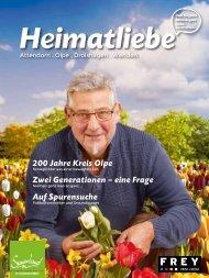 Heimatliebe Ausgabe 1 - Frühjahr 2017