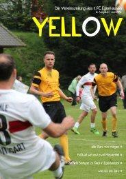 YELLOW   Vereinszeitung 1. FC Egenhausen Juni 2016
