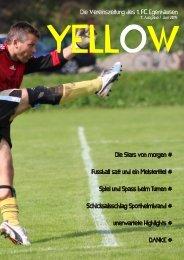 YELLOW | Vereinszeitung 1. FC Egenhausen Juni 2015