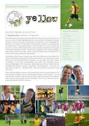 YELLOW | Vereinszeitung 1. FC Egenhausen Juni 2014
