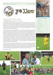 YELLOW | Vereinszeitung 1. FC Egenhausen Juni 2013