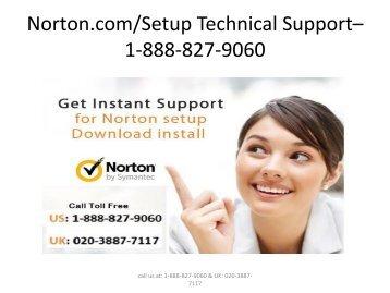 Norton.com/Setup – 888-827-9060 - Norton Setup