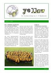 YELLOW | Vereinszeitung 1. FC Egenhausen Februar 2010