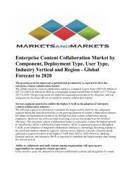 Enterprise Content Collaboration Market by Component