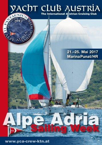 Alpe Adria Sailing Week 2017