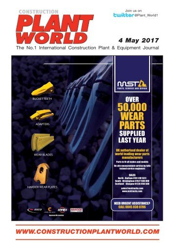 Construction Plant World 4th May 2017