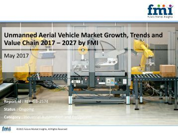Unmanned Aerial Vehicle Market Growth, Trends and Value Chain 2017 – 2027 by FMI