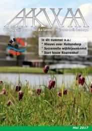 Wijkblad Aakwaa mei 2017