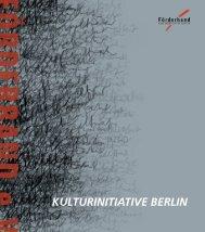 Wie arbeitet FÖRDERBAND eV - Förderband - Kulturinitiative Berlin