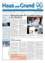 Ausgabe 12/11, PDF, 3.7 MB - Haus und Grund Düsseldorf