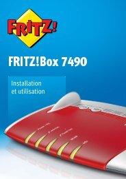 FRITZ!Box 7490. Installation et utilisation
