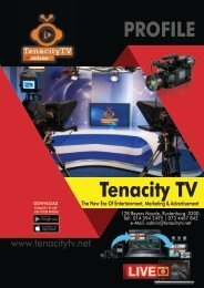 Tenacity TV Profile