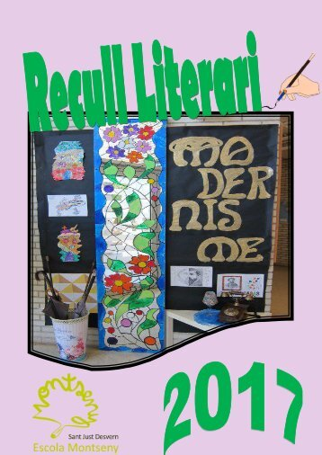recull literari 2017 escola montseny