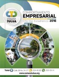 Informe Comportamiento Empresarial 2016