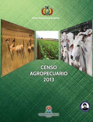 censo agrop 2013 bolivia