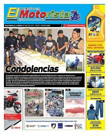 EL MOTORISTA Edicion 1 de Mayo