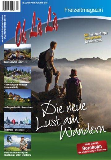 Oh Là Là Freizeitmagazin 2017