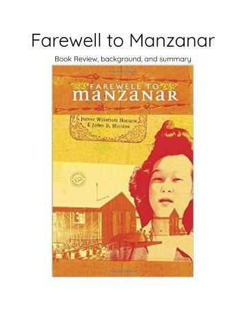 Farewell to Manzanar Flipbook - Google Docs