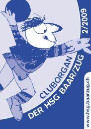 wir bleiben am (Hand-)Ball - HSG Handball Verein Baar/Zug