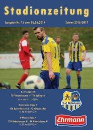 20170506 Stadionzeitung TSV Babenhausen - TSV Bobingen