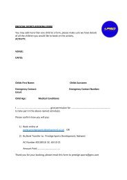 Booking Form PDF