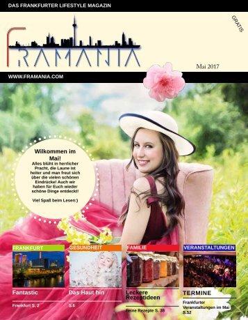 Framania Magazin Ausgabe Mai  2017
