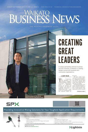 Waikato Business News August/September 2016