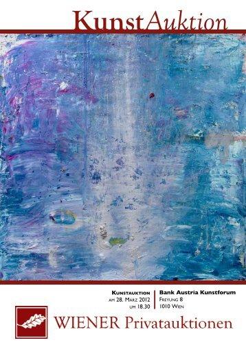 am 28. märz 2012 um 18.30 Bank Austria Kunstforum 1010 Wien