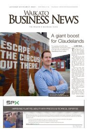 Waikato Business News July/August 2016