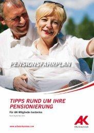 PENSIONSFAHRPLAN - Arbeiterkammer Oberösterreich