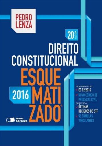 Direito Constitucional esqumatizado 2016